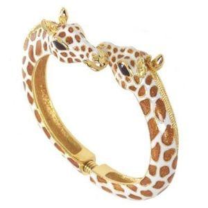 Kenneth Jay Lane Giraffe Head Bracelet